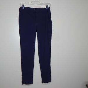 everlane women navy blue wool pant SZ 00
